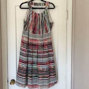 Nine West multicolor and Multi-print Dress